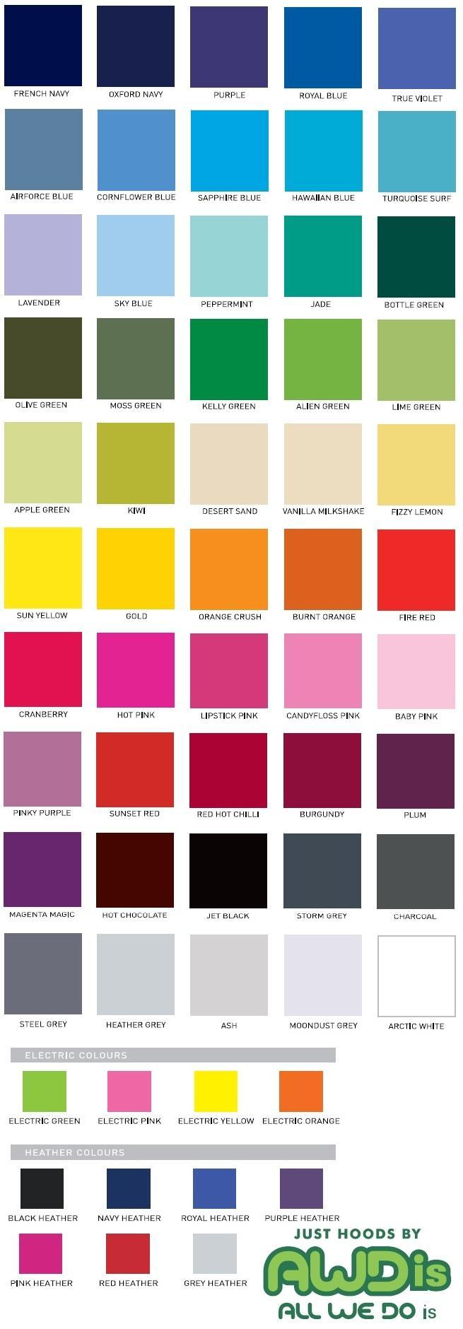 AWDI Colours 2012