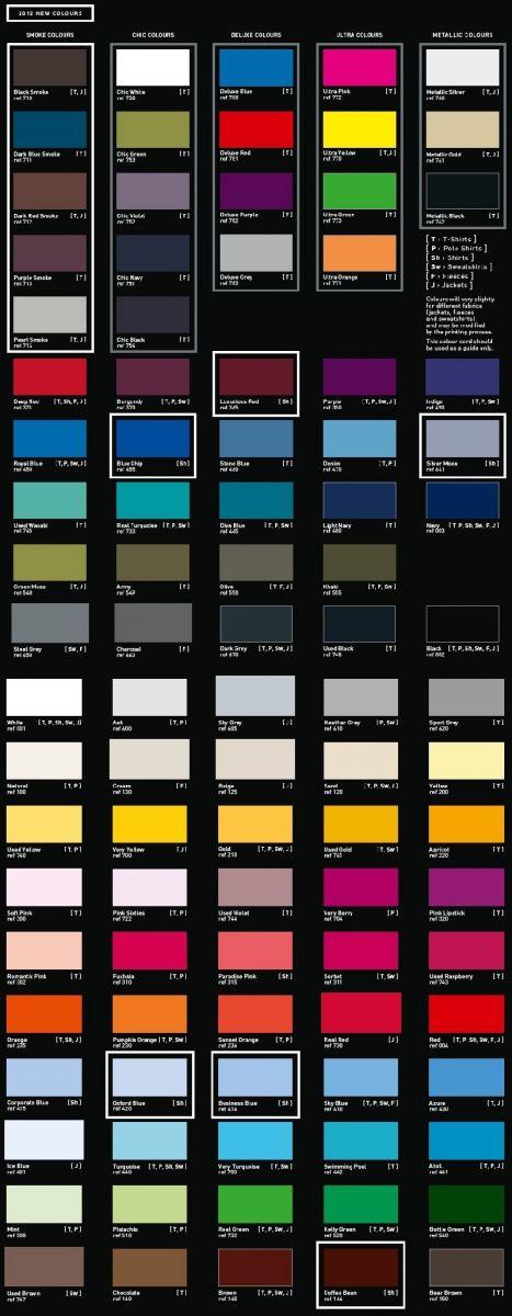 B&C Colours